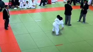 Little Kids Judo tournament in Japan
