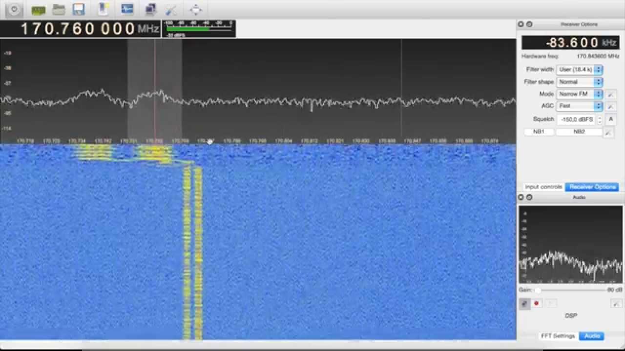 GQRX for Digital Signals | Bastian Bloessl