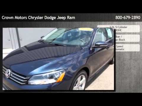 2012 Volkswagen Passat 2 5 Se Holland Youtube