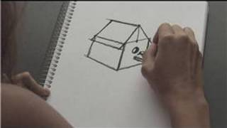 How To Draw : How To Draw A Birdhouse
