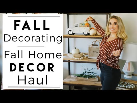 interior-design-|-decorating-for-fall-|-fall-home-decor-haul