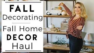 INTERIOR DESIGN | Decorating for Fall | Fall Home Decor Haul