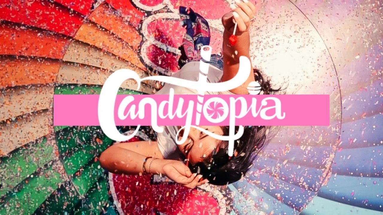 EVERYTHING IS MADE OUT OF CANDY! - CANDYTOPIA