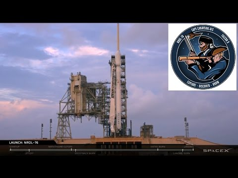 SpaceX's NROL-76 Launch & 1st Stage Landing