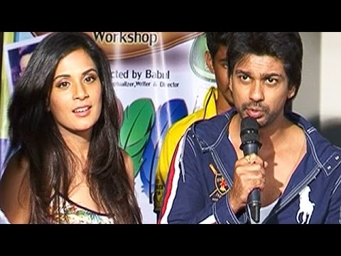 Tamanchey Movie - Richa Chadda and Nikhil Dwivedi at a college festival | Bollywood News