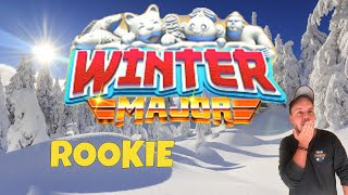 Golf Clash tips, Playthrough, Hole 1-9 - ROOKIE *Tournament Wind* - Winter Major Tournament!