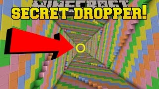 Minecraft: SECRET DROPPER!!! - Dropper Unlimited - Custom Map