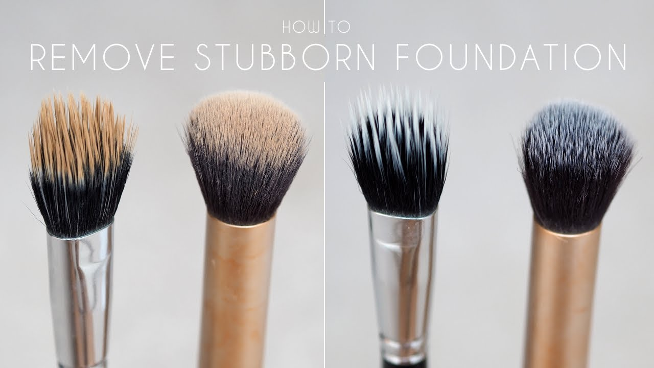 How To Remove Foundation & Concealer From MakeUp Brushes | Shonagh Scott | ShowMe MakeUp