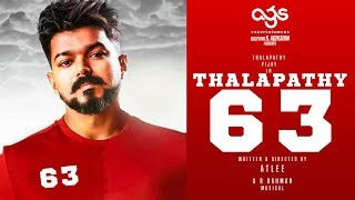 OFFICIAL: Thalapathy 63 Set Work Begins! | Thalapathy Vijay | Nayantara | Atlee