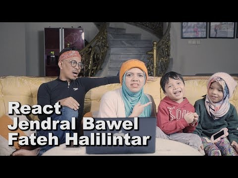 React Jendral Bawel Fateh Halilintar - Drama Gen Halilintar Episode 1