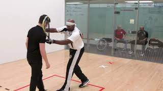 Racquetball training for veterans 9 of 12 - DRILLS