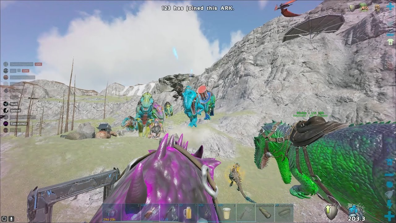Ark Official PvP | Defending The House