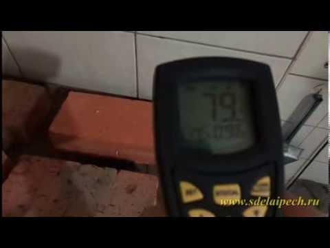 Теплопроводность кирпича ШБ 8