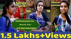 Kerala Girls About Chennai Pasanga   Beauty Of Kerala   Hashtag Madras