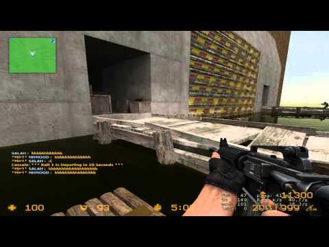 Counter Strike Source зомби прохождение карты
