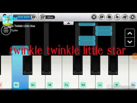 """Chord Piano Mudah Lagu Anak """"Twinkle Twinkle Little Star"""""""