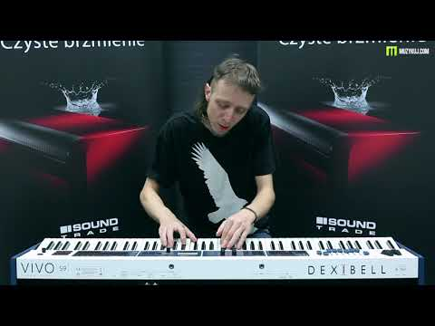 Nagrania dla muzykuj.com – Dexibell VIVO S9 – Dexibell Piano Meeting gra: Kamil Barański www.muzykuj.com. Warszawa 2018