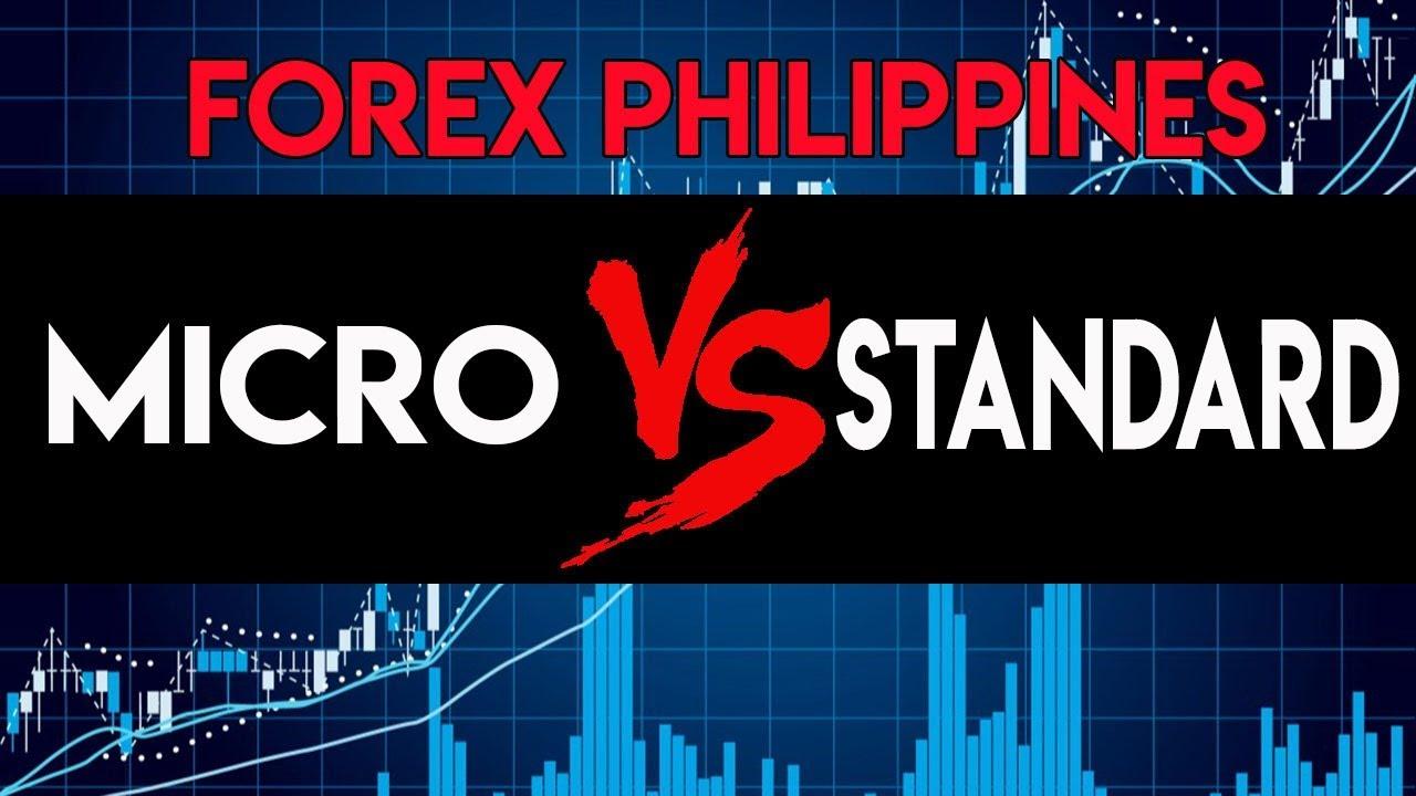 Forex micro vs standard account