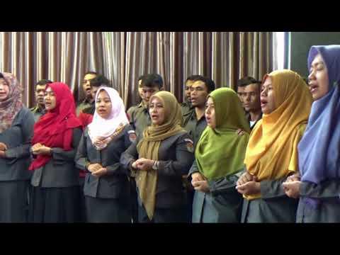 Mars Pengawas Pemilu (Live) Kelompok Paduan Suara Bawaslu Riau