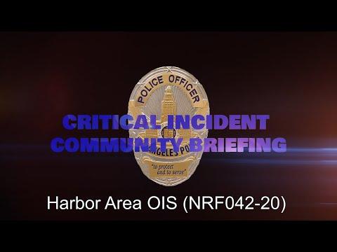 Harbor Area OIS 9/26/2020 (NRF042-20)