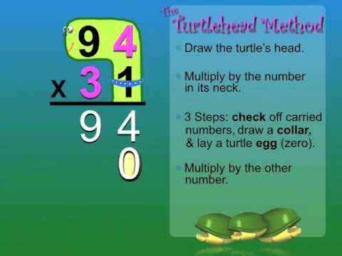 Turtlehead Multiplication - YouTube