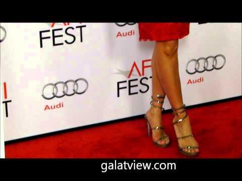 Gloria Reuben with a sexy red dress More galatview.com