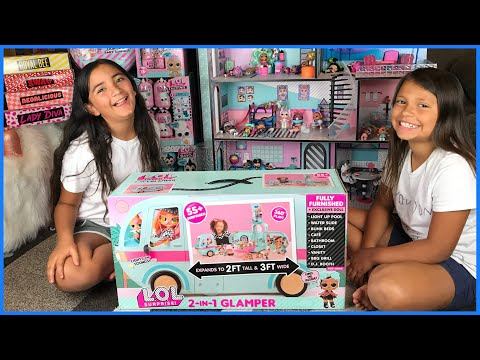 LOL Surprise 2 in 1 Glamper Unboxing // Limited Edition Exclusive Doll Strut