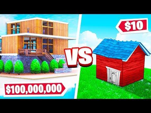 Fortnite Build Your Dream House CHALLENGE! Fortnite Creative