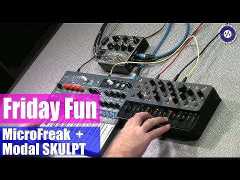 Modal SKULPT and Micro Freak - Friday Fun Synth Jam