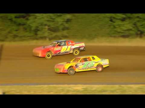 Dog Hollow Speedway - 8/5/16 Pure Stocks Heat Race #1