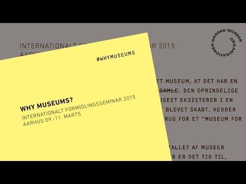 Museet under mistanke, Anders Fogh Jensen - #whymuseums 2015