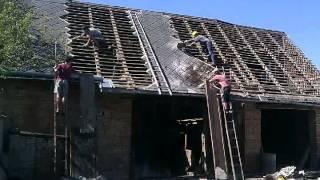 Azbestová střecha #1