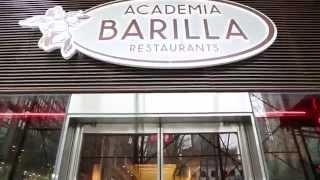 Academia Barilla Restaurants - Bryant Park - Opening Event