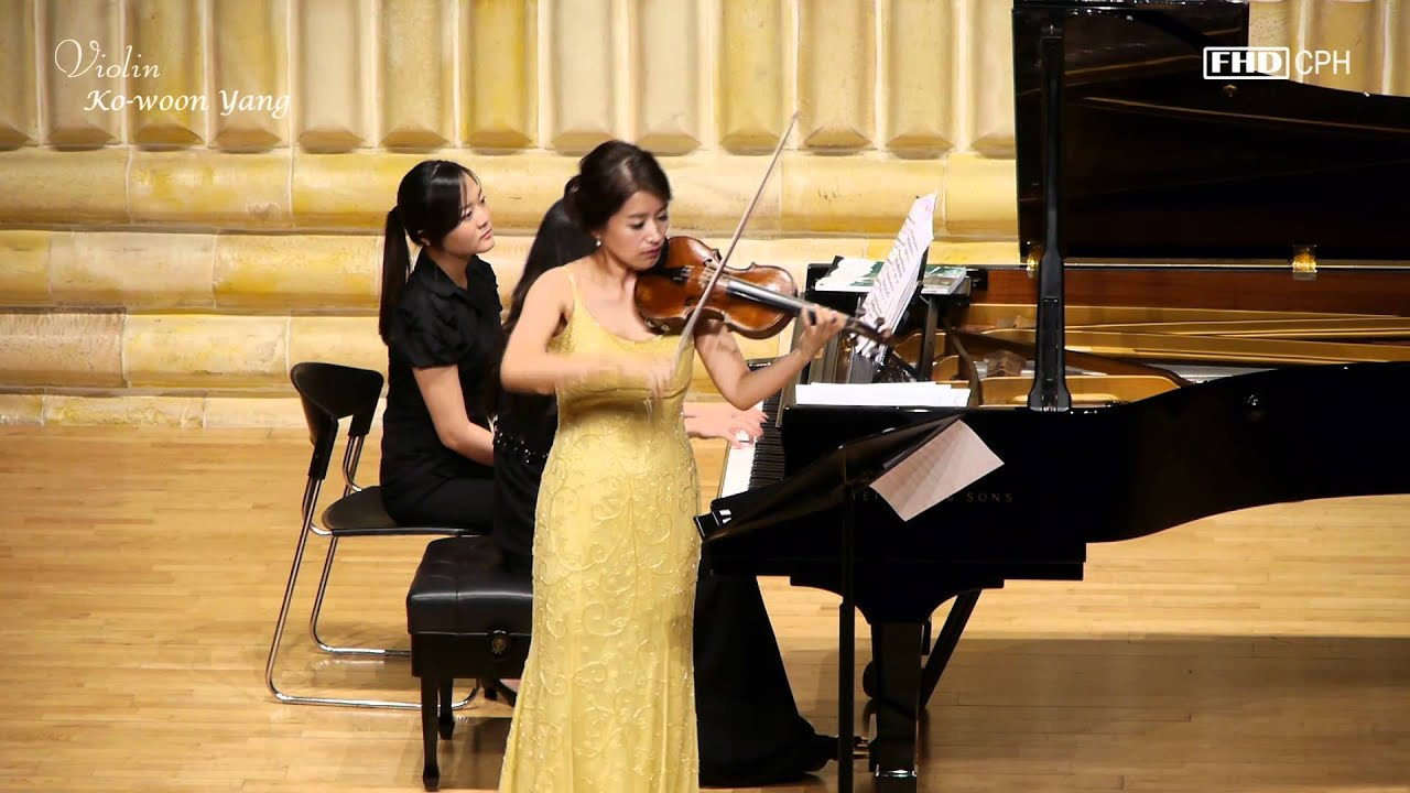 Kowoon Yang, Fritz Kreisler - Variations (on a Theme by Corelli in the style of Tartini)