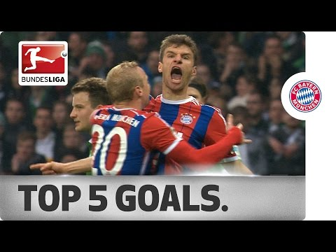 Thomas Müller – Top 5 Goals 2014/15