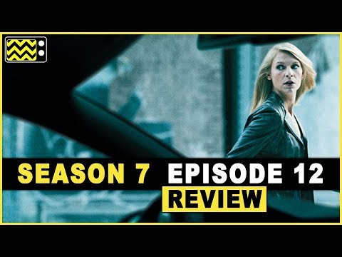 Homeland Season 7 Episodes 12  w Geoff Pierson  AfterBuzz TV