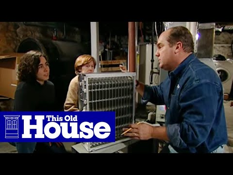 How to Install an Electronic Air Cleaner - This Old House