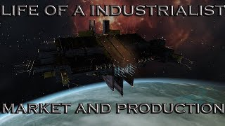 eve online: life of a industrialist : market and production 14-9-2017