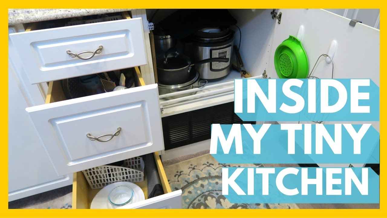 WHAT\'S IN MY TINY RV KITCHEN? - YouTube