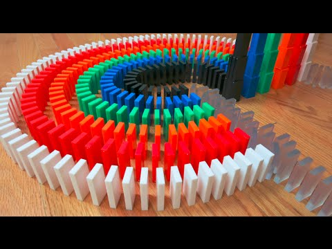 Thumbnail: 31 UNREAL Domino Tricks! (10,000 Dominoes)