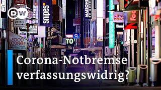Corona-Notbremse: Handel prüft Verfassungsklage | DW Nachrichten