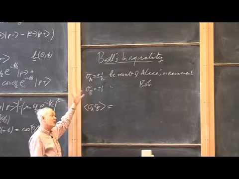 017 Einstein Podolski Rosen Experiment and Bell's Inequality University of Oxford Podcasts   Audio