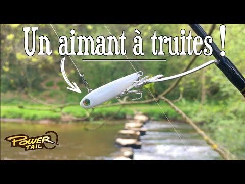 leurre fish truite