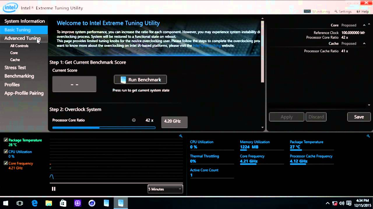 Overclocking Tips 3: Intel eXtreme Tuning Utility untuk OC
