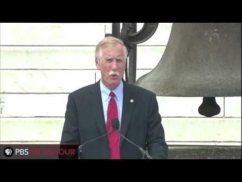 U.S. Senator Angus King Speaks at the 50th Anniversary of the March on Washington