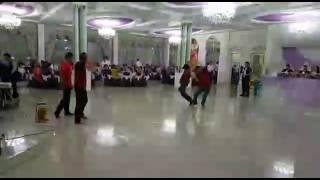 Брейк данс на свадьбе 2017 Батыс