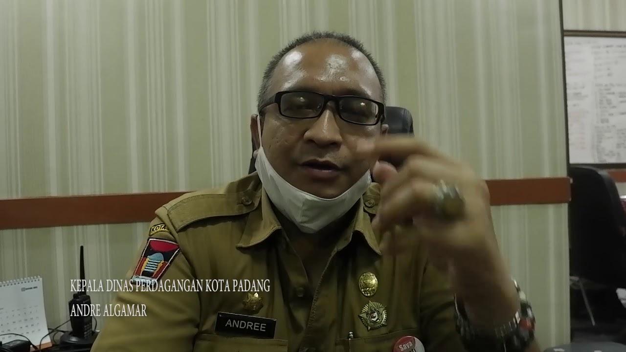 Masuk Dinas Perdagangan Kota Padang Harus Pakai Masker Hingga Tes Suhu
