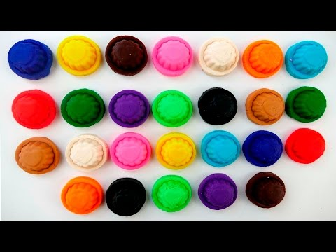 Play-Doh ABC for Toddlers | Colors | Play-Doh ABCD |...