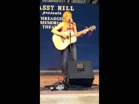 Zoe Carter at Kerrville Folk Festival May 2014