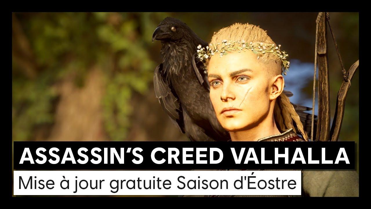 Assassin's Creed Valhalla - Mise à jour gratuite Saison d'ÉostreVOSTFR